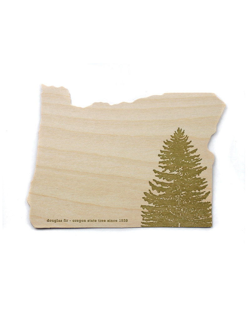 Oblation Papers & Press Die-Cut Birch Veneer Oregon Fir Tree