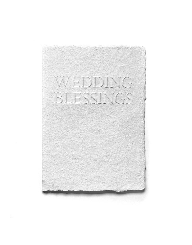 Oblation Papers & Press Wedding Blessings Serif Card