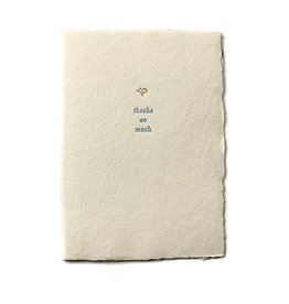 Oblation Papers & Press Thanks So Much Small Salutation