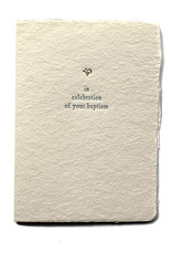 Oblation Papers & Press In Celebration of Your Baptism Small Salutation