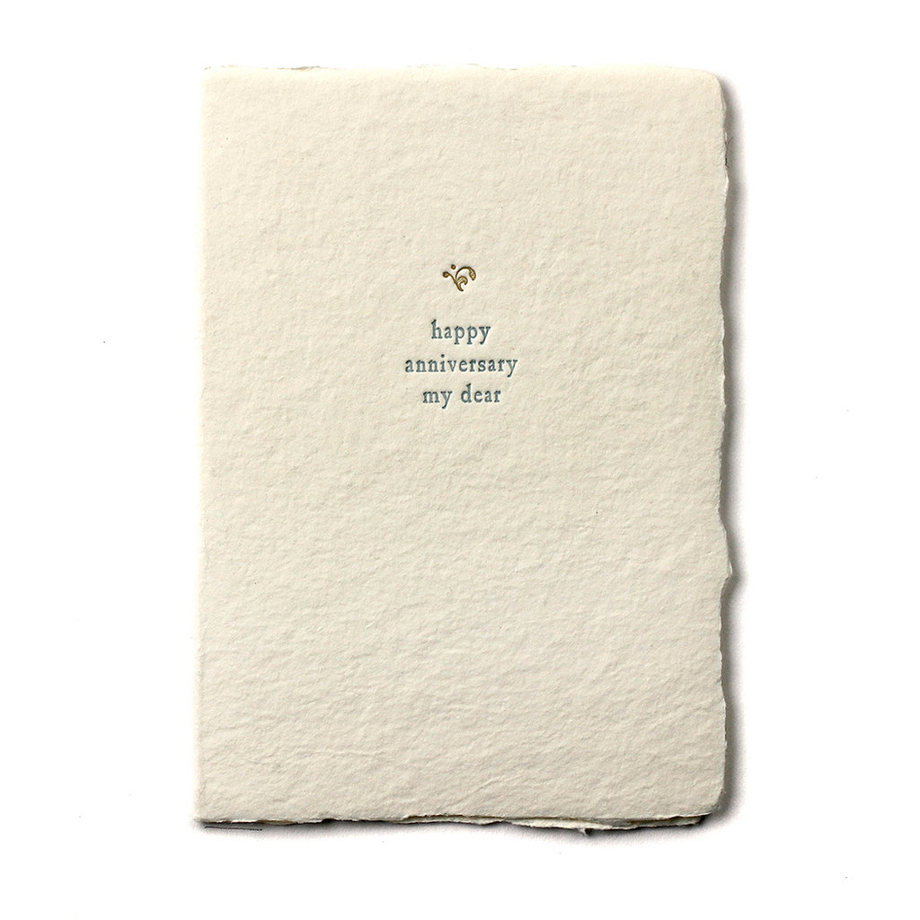 Oblation Papers & Press Happy Anniversary My Dear Small Salutation