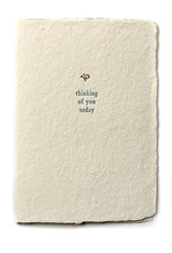 Oblation Papers & Press Thinking of You Today Small Salutation