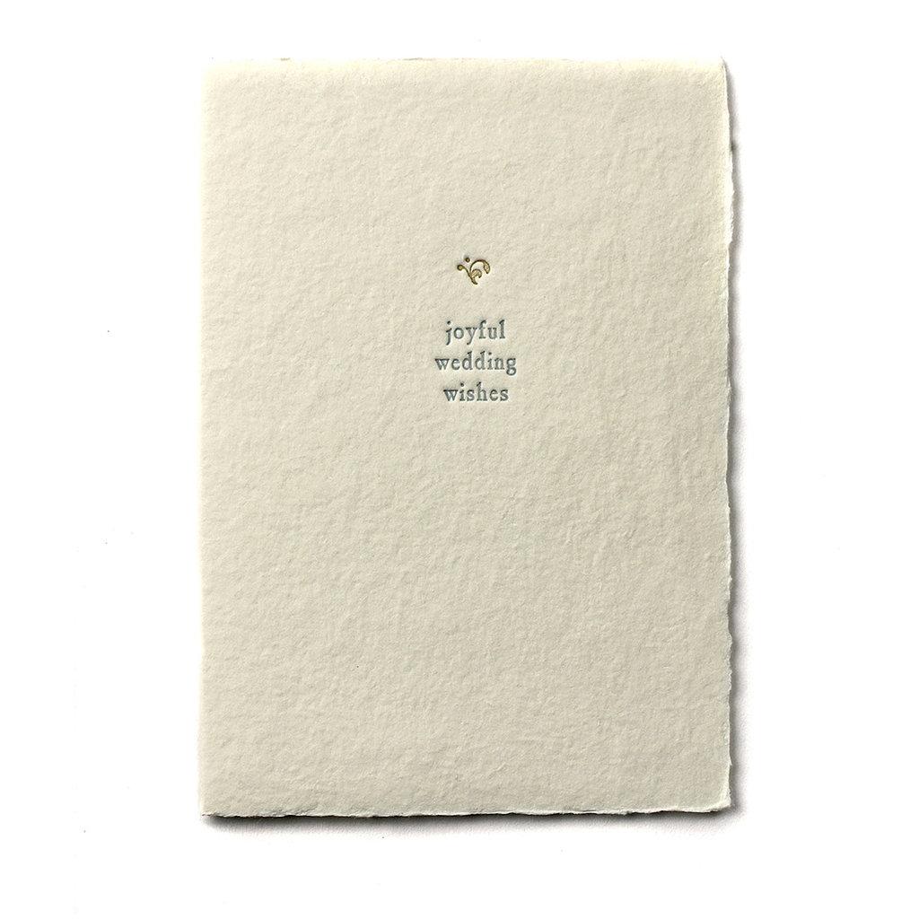 Oblation Papers & Press Joyful Wedding Wishes Small Salutation