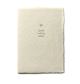 Oblation Papers & Press Joyful Wedding Wishes Small Salutation