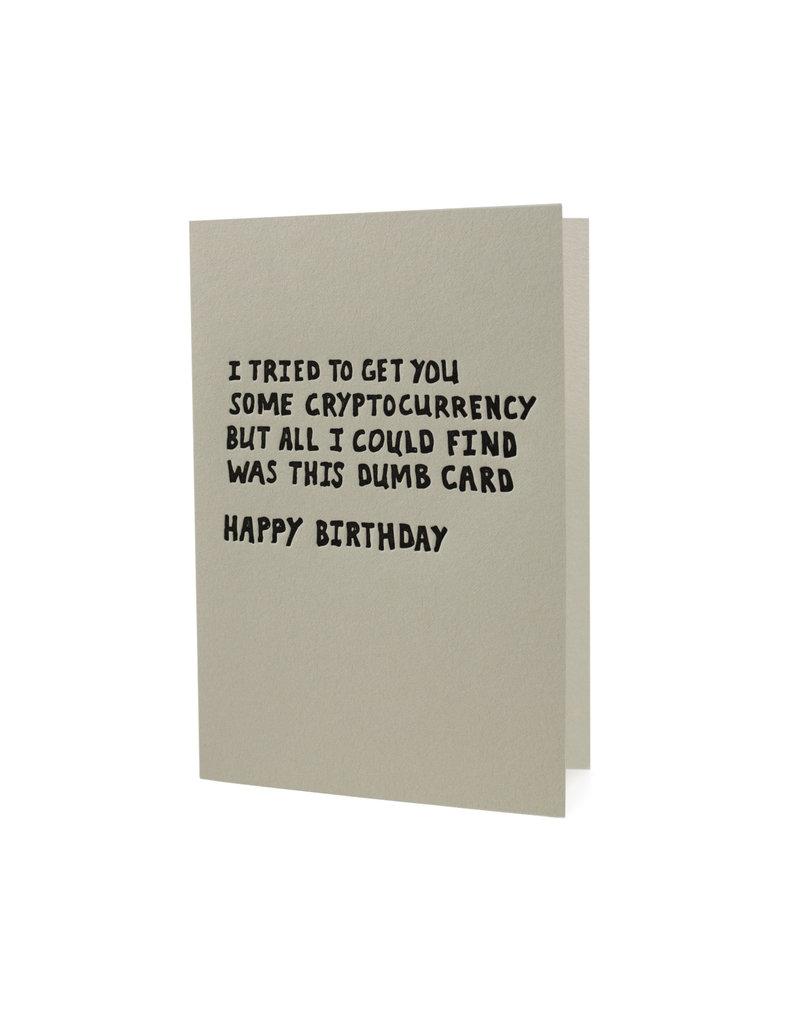 HWG I tried to get you some cryptyocurrency Happy Birthday