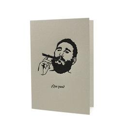 HWG Fidel Castro ¿Que Pasa? Card