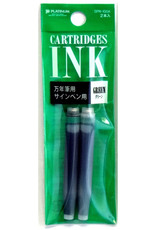 Platinum Platinum Preppy Ink Cartridges Green