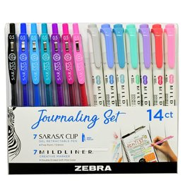 Mildliner Journaling Set 12 pack
