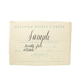 Oblation Papers & Press Gift Certificate