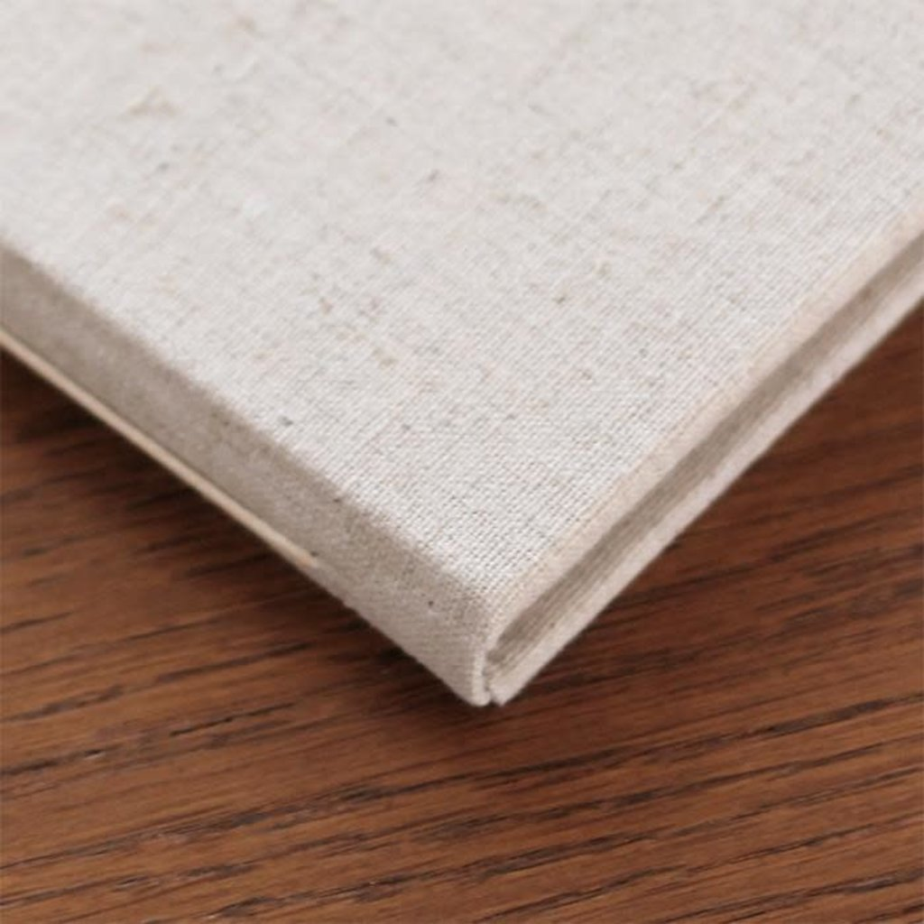 Rag & Bone Guest Book in Natural Linen Lined