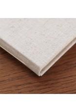 Guest Book Natural Linen Lined