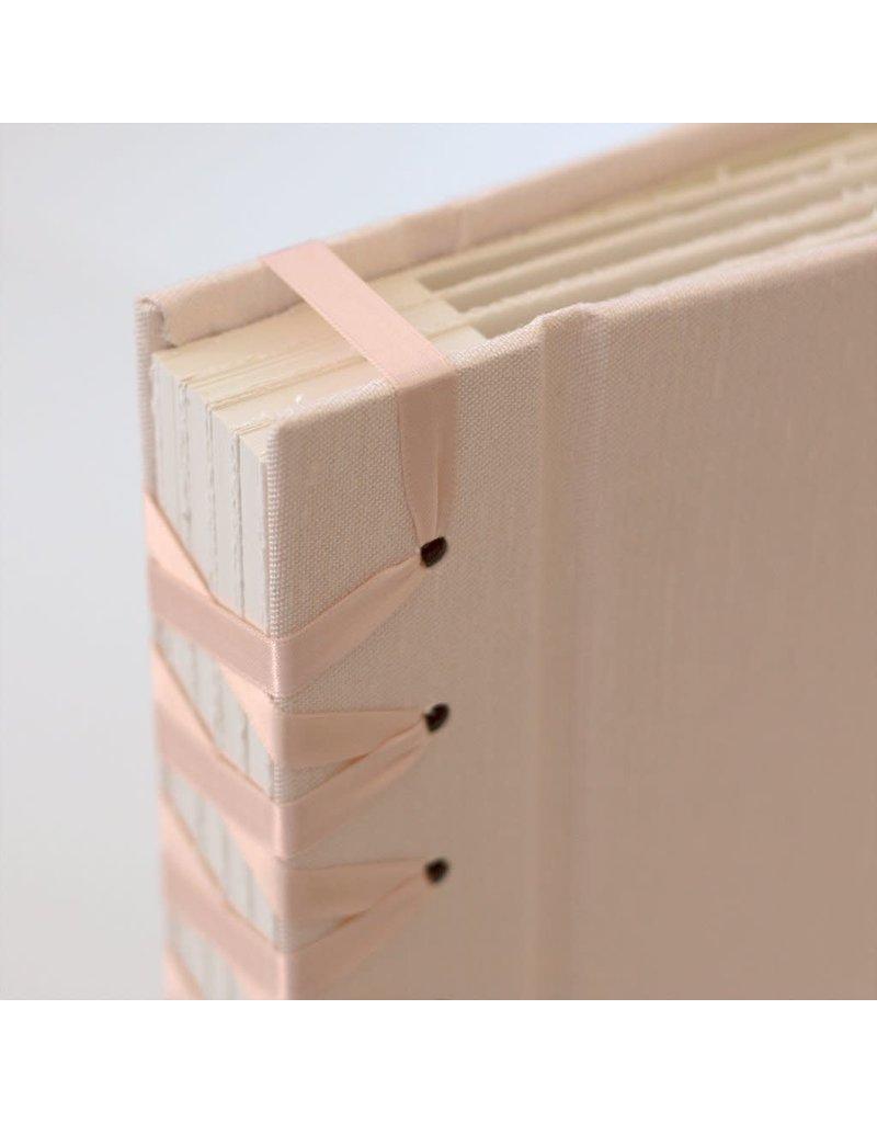 Handmade Photo Album Small Blush
