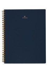 Appointed Notebook in Oxford Blue - Lined