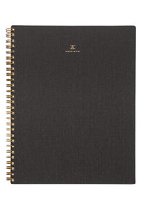 Appointed Notebook in Charcoal Gray - Lined