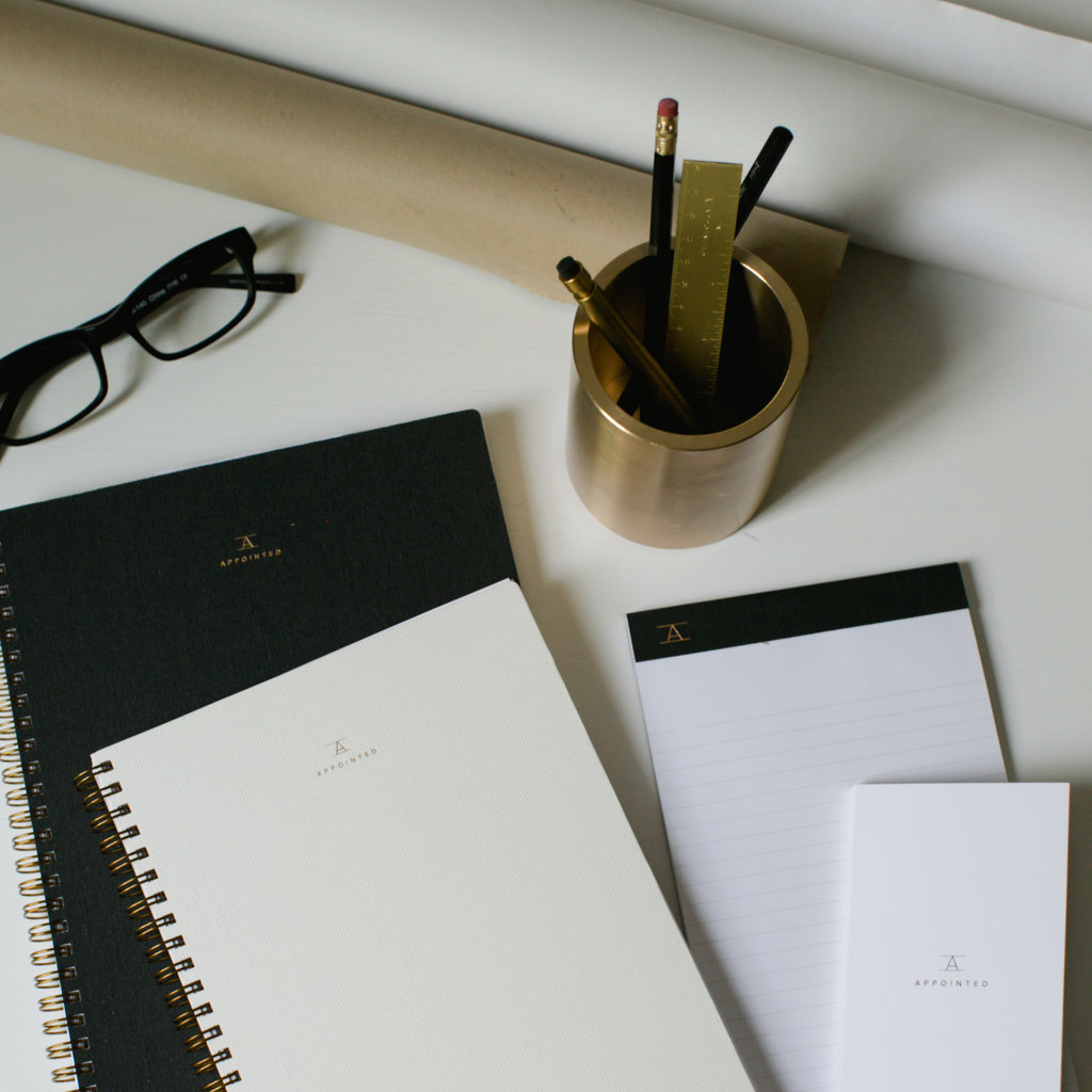 Appointed Workbook in Natural Linen - Lined