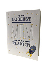 Elum Out of this World Mom Letterpress Card
