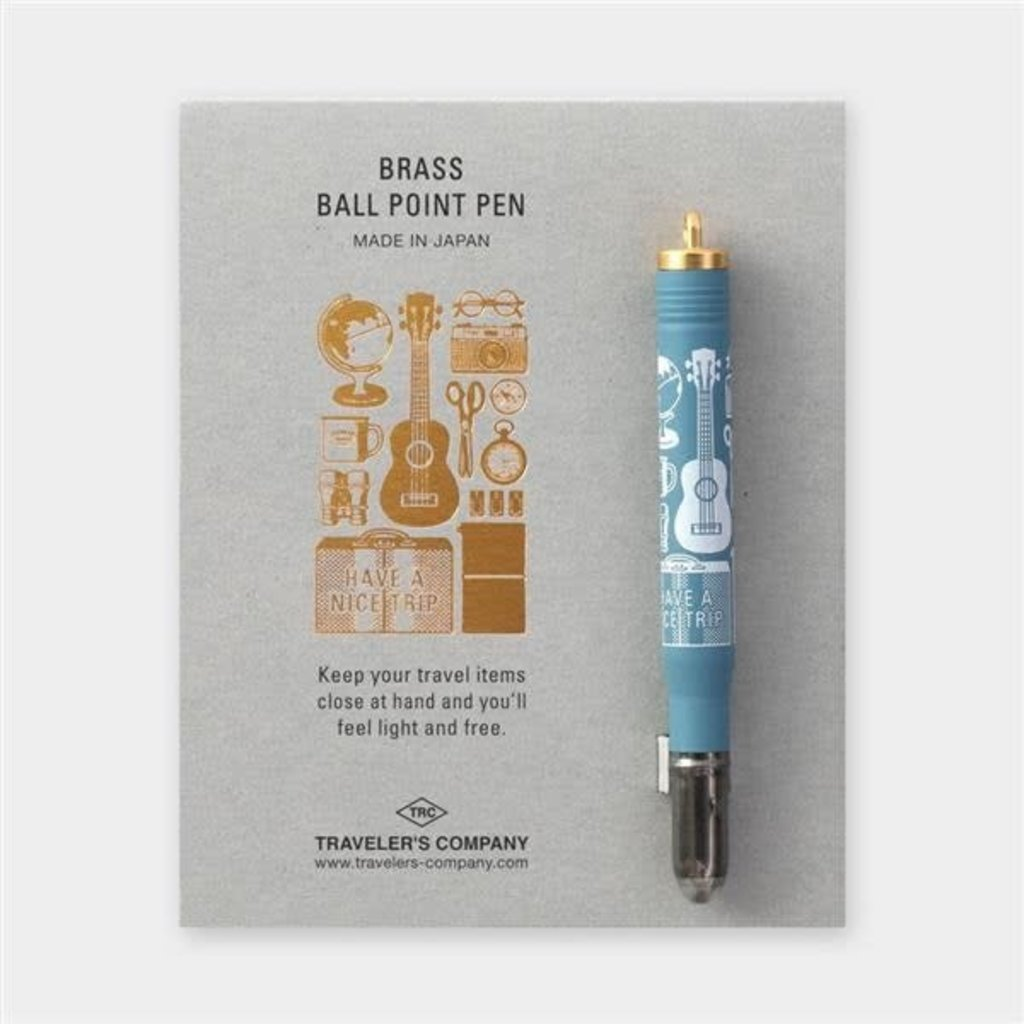 Traveler's Company Traveler's Company Brass Ballpoint Pen - Special Edition