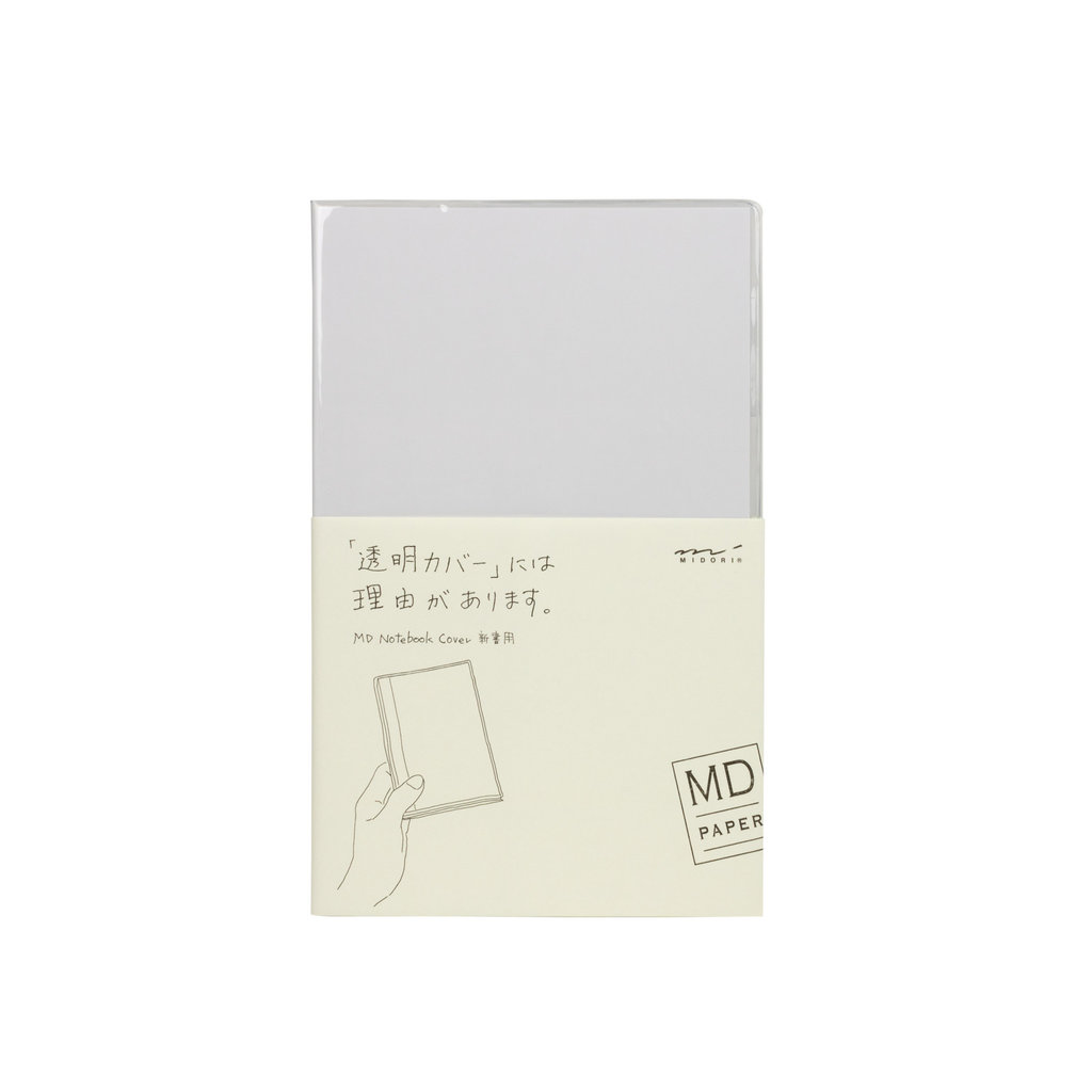 Midori Midori MD Notebook B6 Slim Clear Cover
