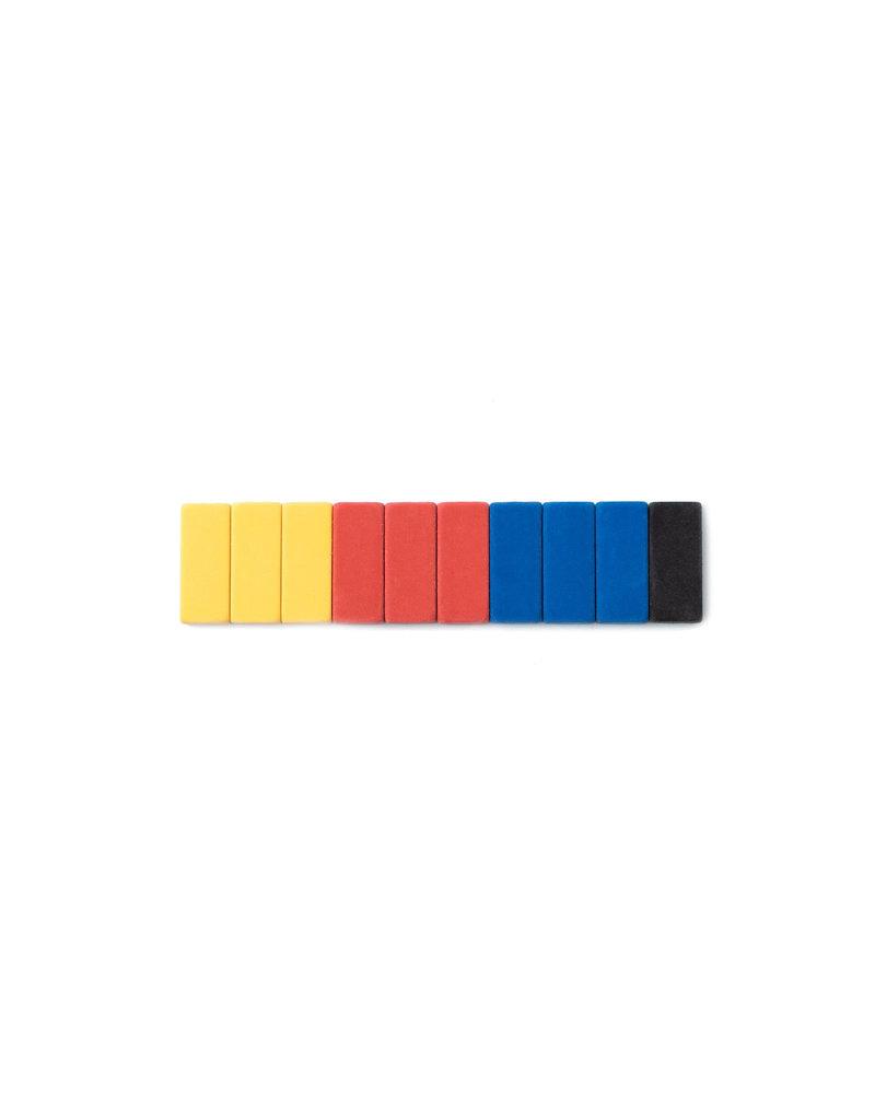 Blackwing Blackwing Volume 155 Bauhaus Mixed Eraser Set