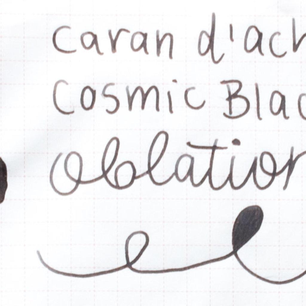 Caran d'Ache Caran D'Ache Ink Bottled Cosmic Black