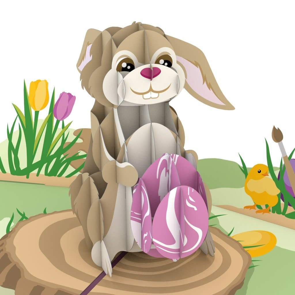 Lovepop Easter Bunny with Egg