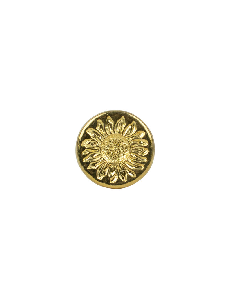 Florentine Wax Seal Sunflower