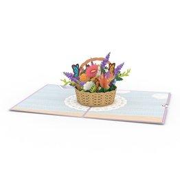 Lovepop Flower Basket Pop-Up Card