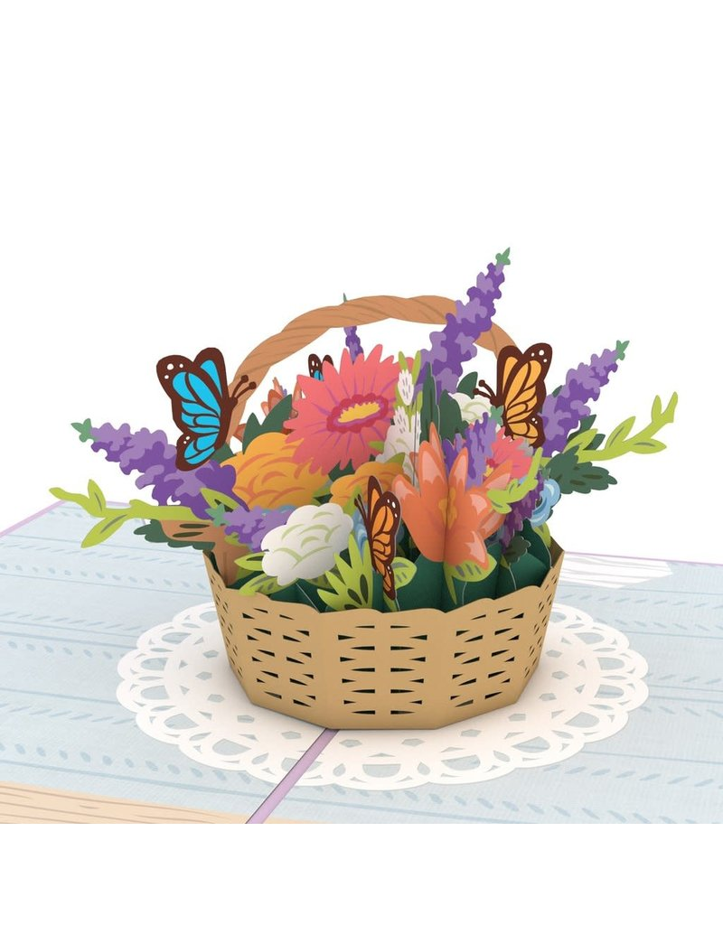 Lovepop Flower Basket