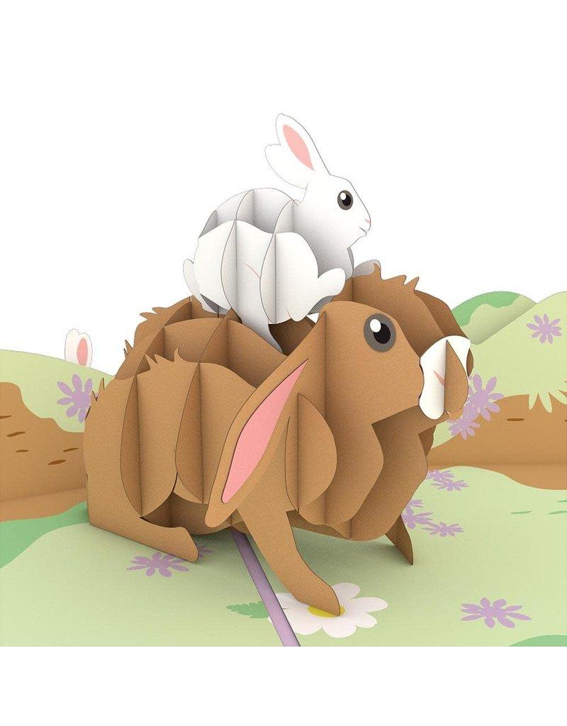 Lovepop Bunny Family