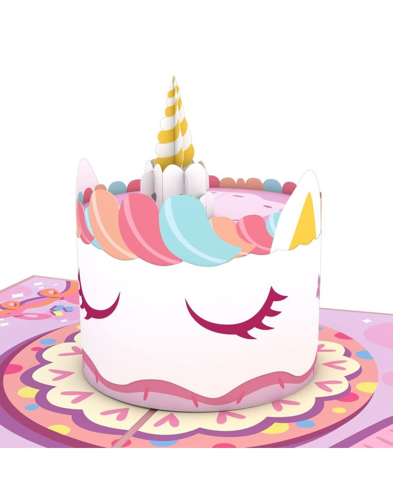 Lovepop Unicorn Cake