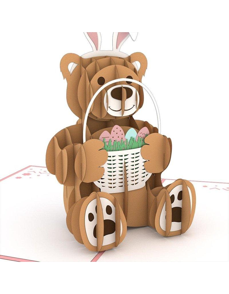 Lovepop Easter Bunny Bear Pink