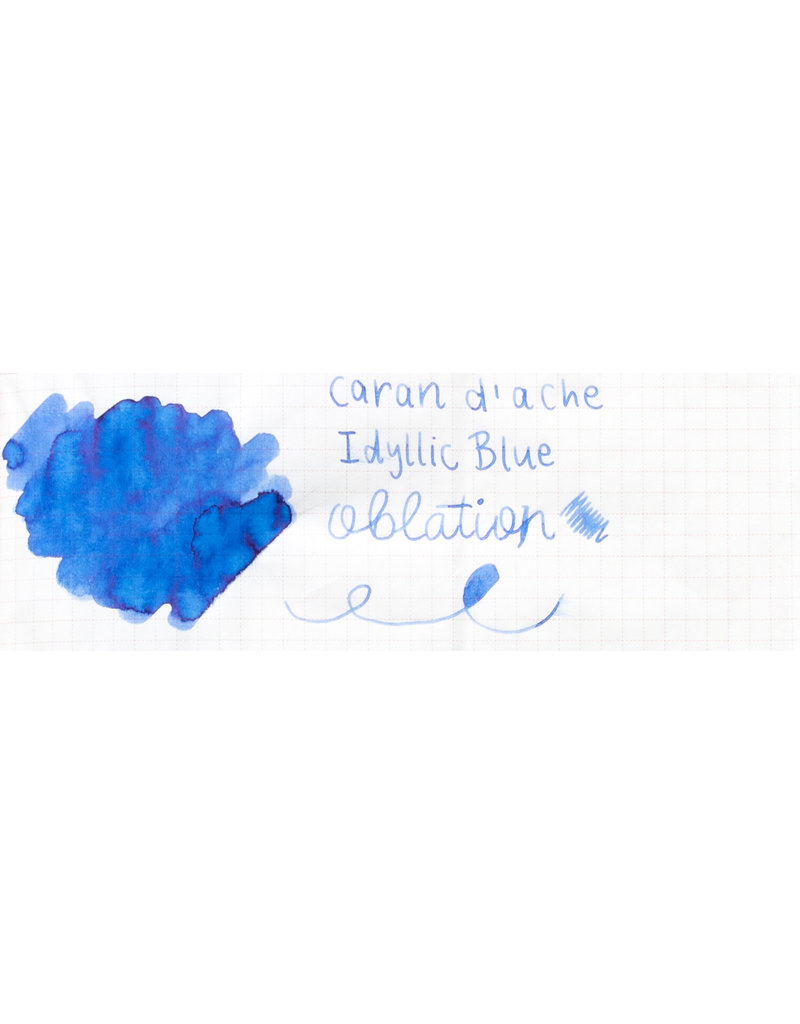 Caran d'Ache Caran D'Ache  Ink Bottled Idyllic Blue