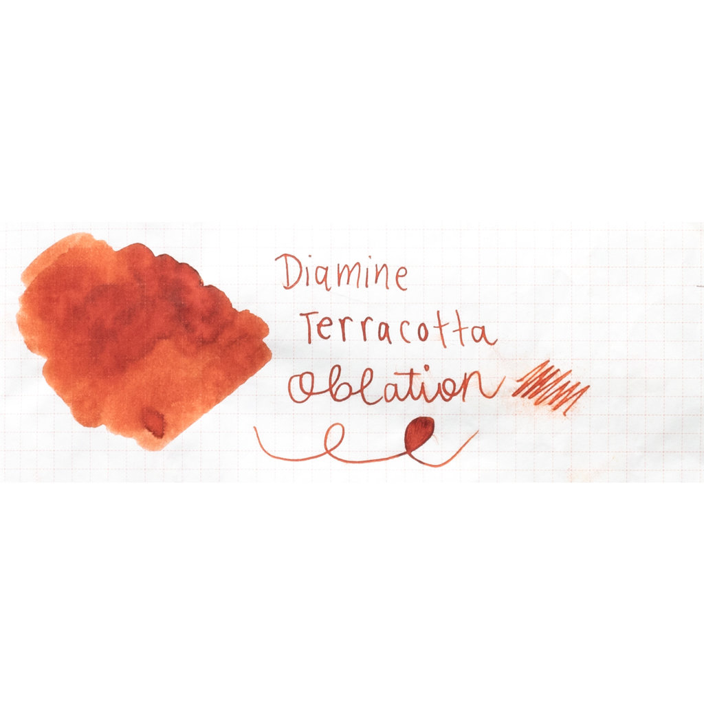 Diamine Diamine 150th Anniversary Terracotta Bottled Ink 40ml