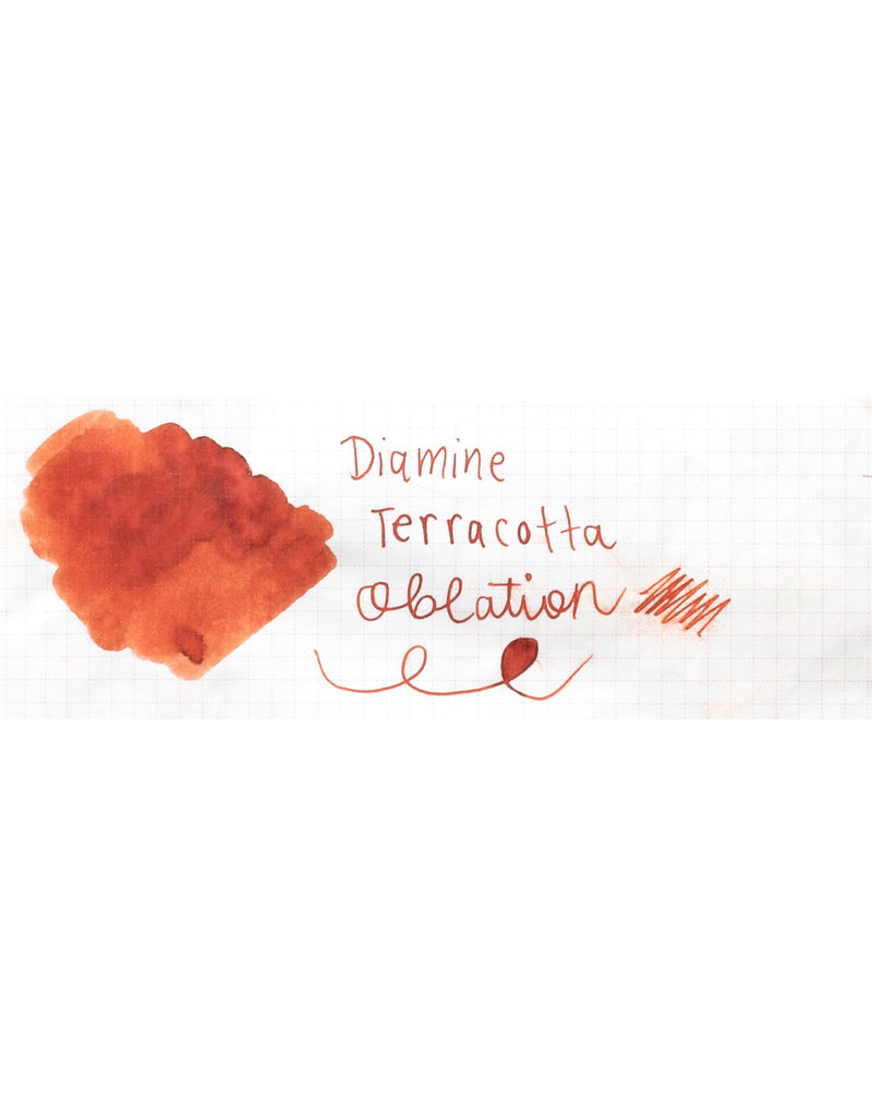 Diamine Diamine 150th Anniversary Terracotta Bottled Ink