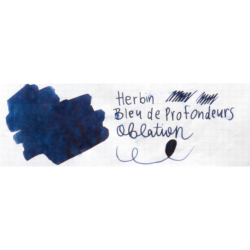 J. Herbin J Herbin Bottled Ink Bleu des Profondeurs 10ml