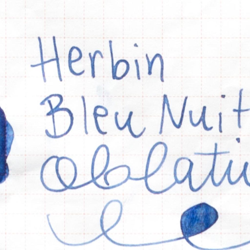 J. Herbin J Herbin Bottled Ink Bleu Nuit