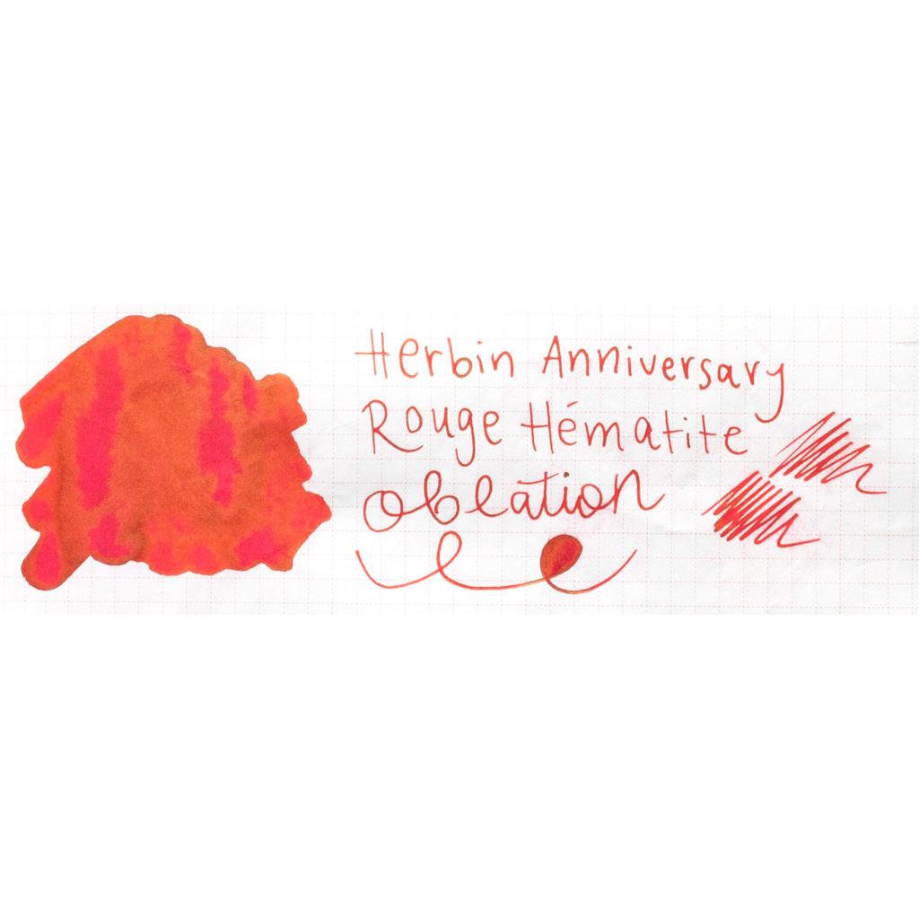 J. Herbin J Herbin 1670 Bottled Ink Rouge Hematite 50ml