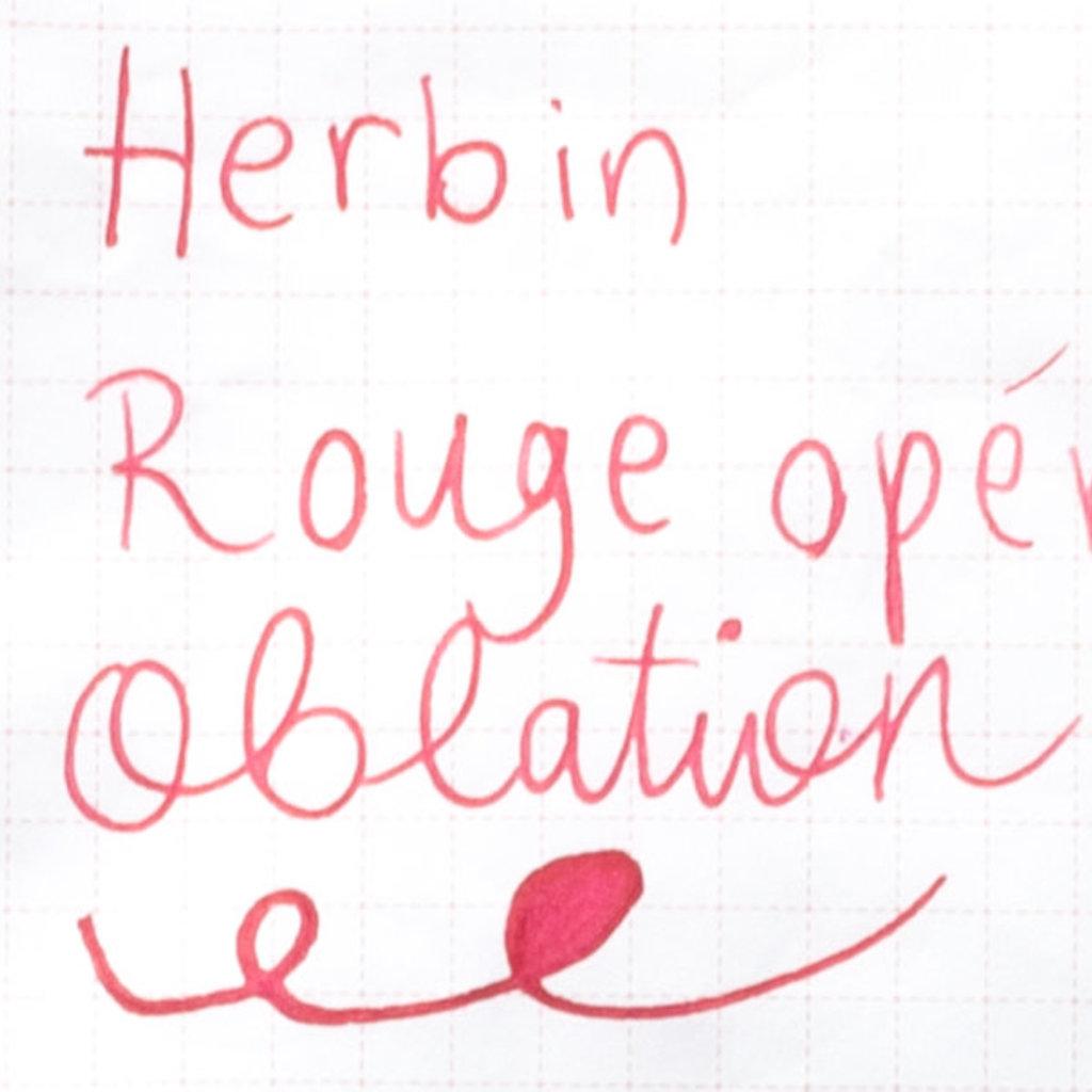 J. Herbin J Herbin Bottled Ink Rouge Opera