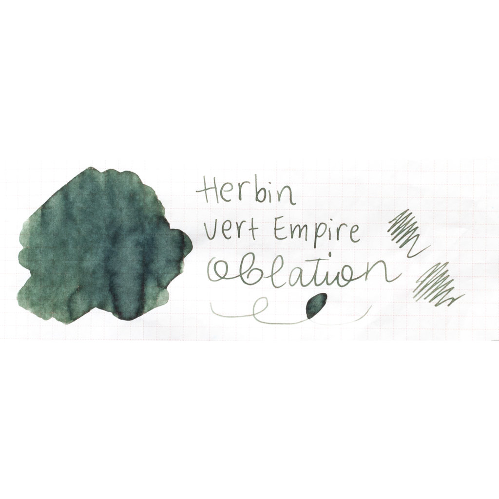 J. Herbin J Herbin Bottled Ink Vert Empire 10ml