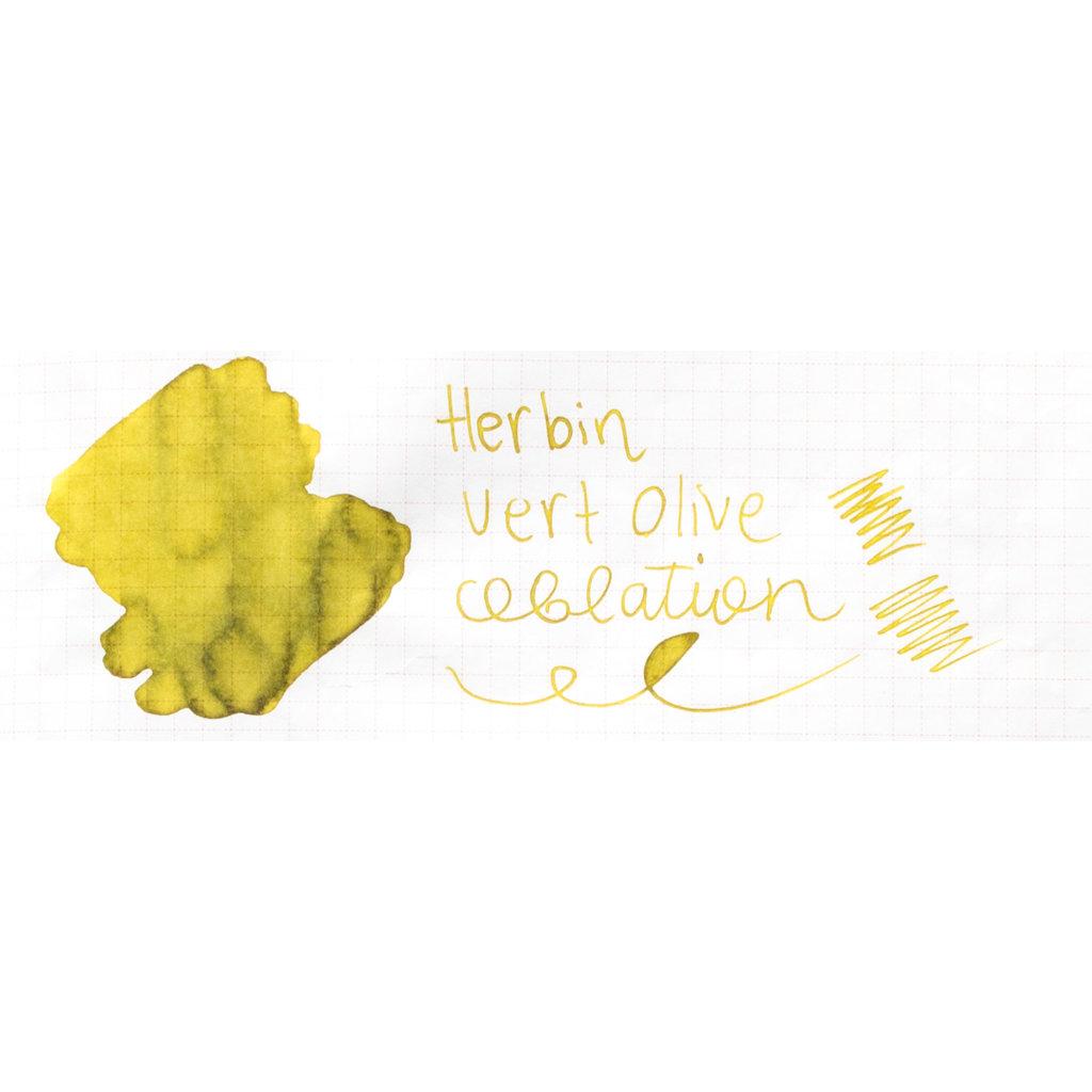 J. Herbin J Herbin Ink Cartridges Vert Olive