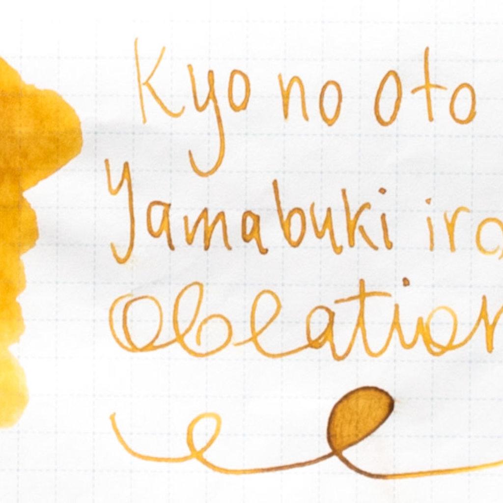Kyo No Oto Kyo No Oto Yamabukiiro Ink