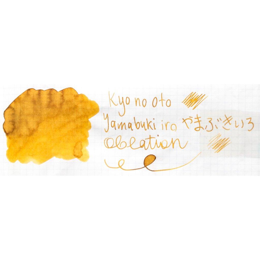 Kyo No Oto Kyo No Oto Yamabukiiro Ink 40ml