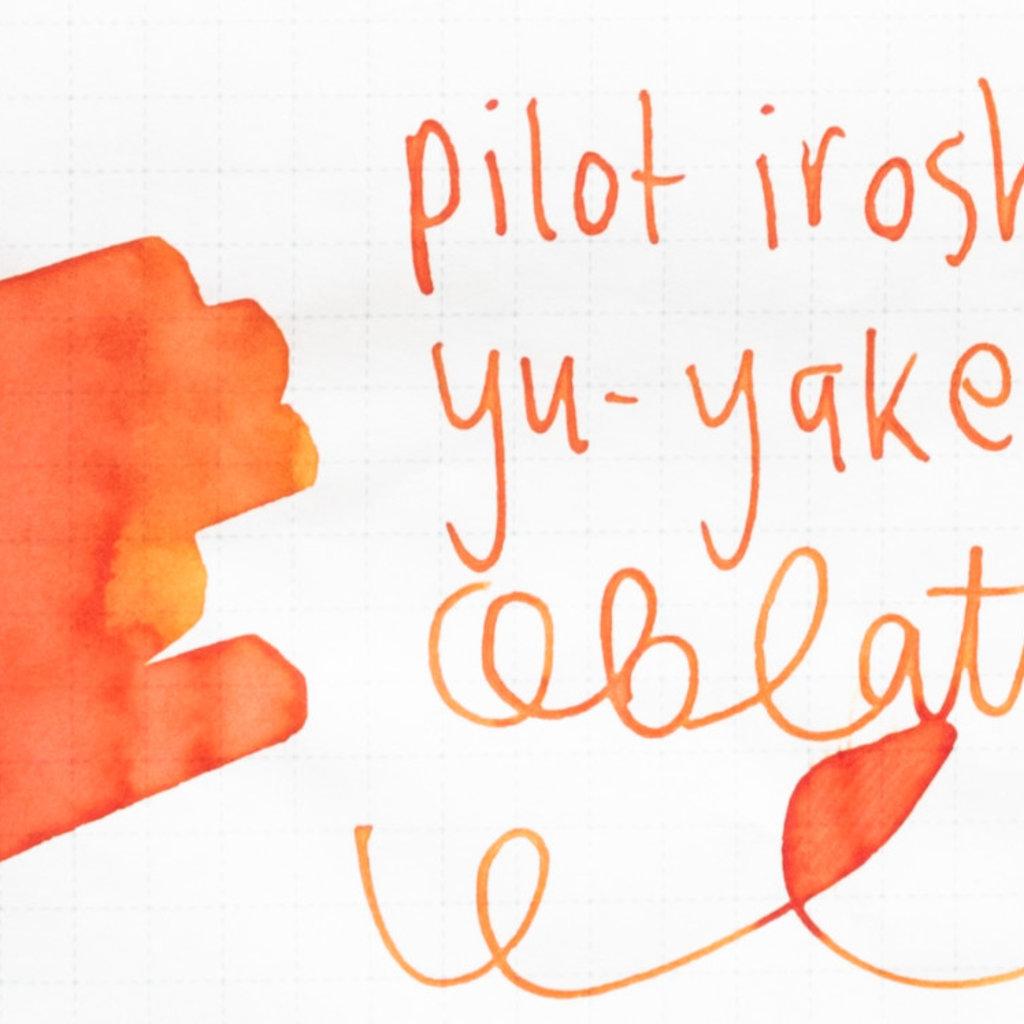 Pilot Iroshizuku Ink Bottled Yu-yake