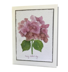 Grace Watercolors Hydrangea Happy Mother's Day