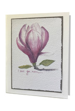 Grace Watercolors Magnolia I Love You Mom