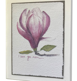 Grace Watercolors Magnolia I Love You Mom