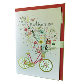 Bicycle Basket of Flowers - Mother's Day