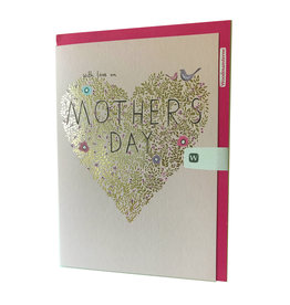 Gold Leaf Heart - Mother's Day