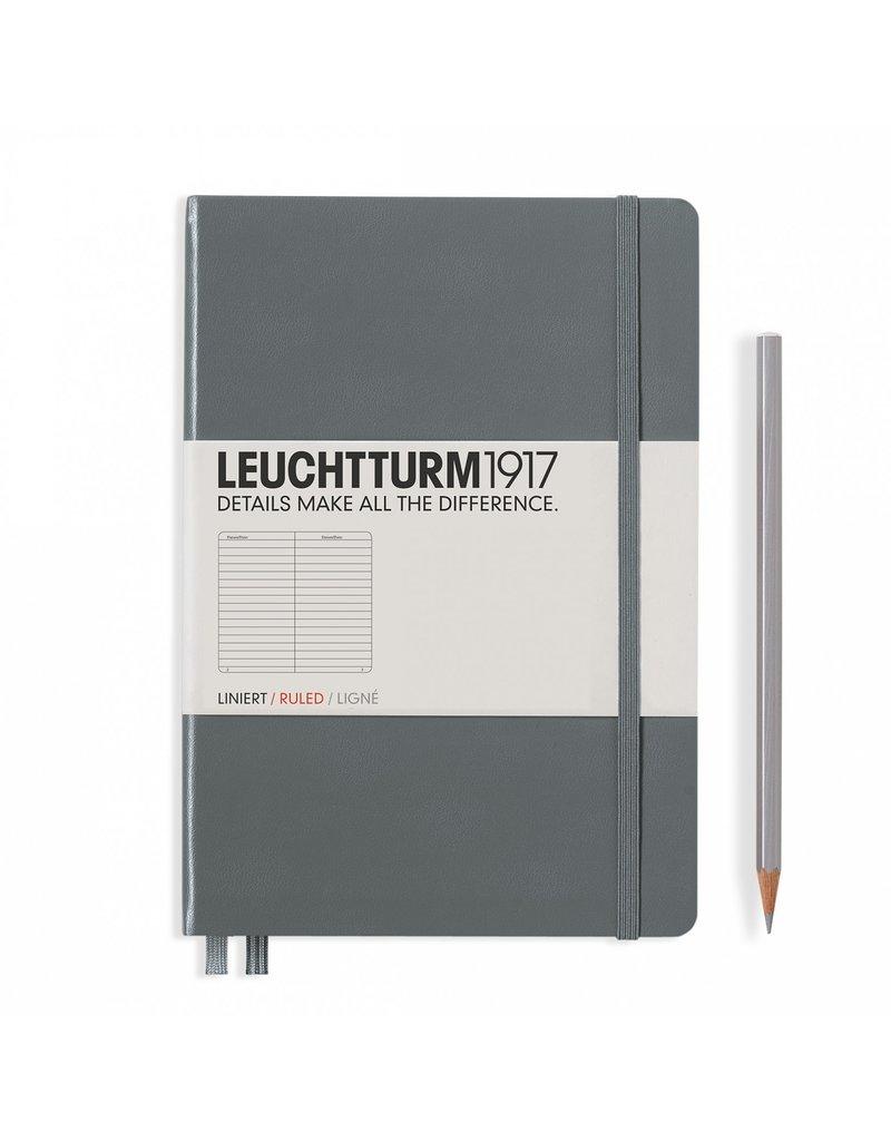 Leuchtturm A5 Notebook Ruled Anthracite