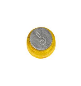 Small glass seal treble clef